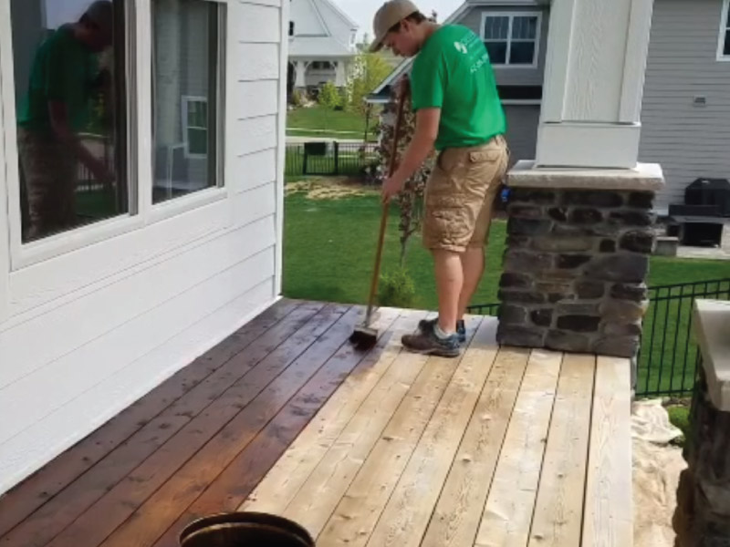Deck Staining In Lakeville Mn Okeefe Painting House