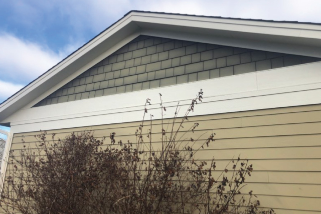 Chalky faded paint on Rosemount home