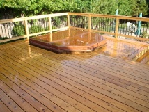 Prior To Deck Sanding