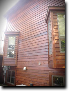Log and Siding cleaning and sealing Minneapolis St Paul MN