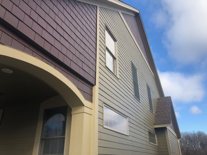 Home painted with Duration low lustre sheen