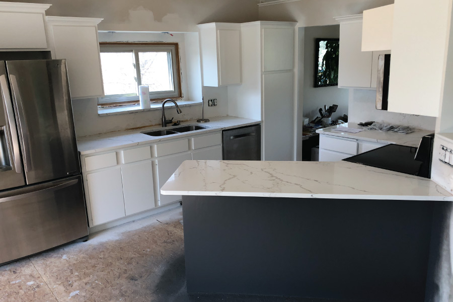 Kitchen Cabinet Painting in Woodbury