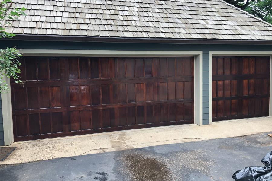 Garage door restoration and refinishing company in Minneapolis