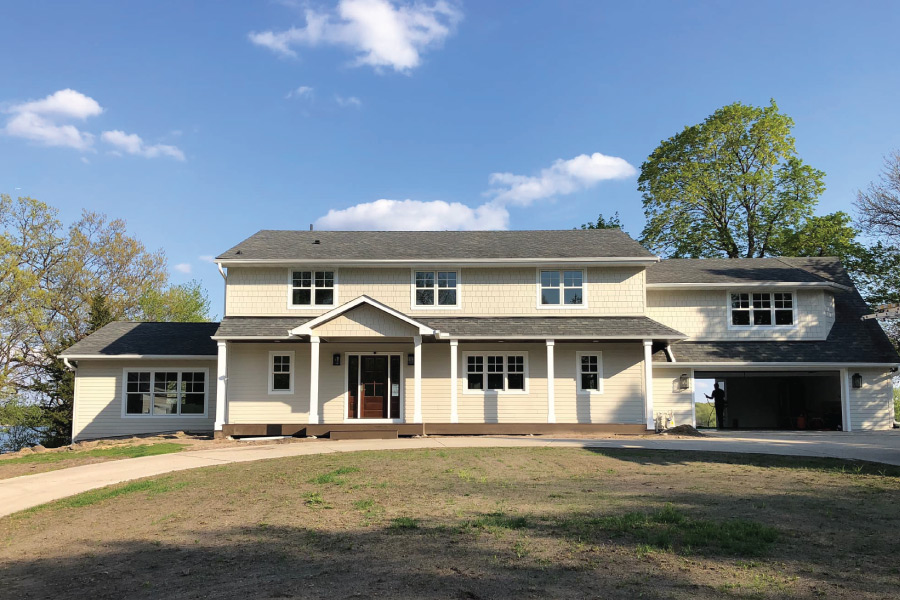 Exterior House Painting in Prior Lake