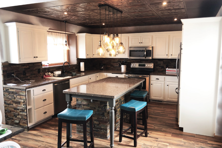 Kitchen Cabinet Painter In Farmington Okeefe Painting