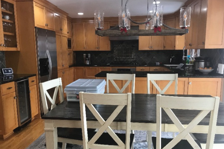 Maple cabinets near Minneapolis